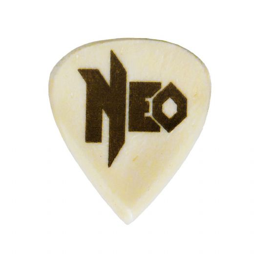 Neo Geo Fanatic Buffalo Bone 1 Signature Guitar Pick